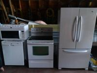 I have a complete kitchen set including 32""