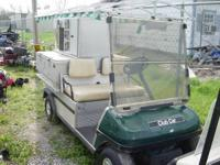 2003 Club Car Turf 2 - Gas Four Cold Storage Areas