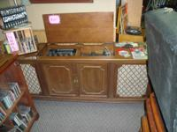 We have a few in, console/cabinet steroes and record