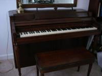 "Description console piano ""Wurlitzer"" good shape"