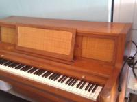 Kohler and Campbell console piano piano needs to be