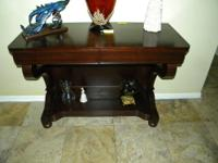 Console Table Furniture (third table) $200.00 A