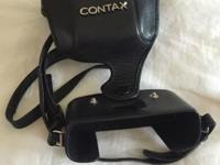 Contax T3 film camera, excellent condition, hardly ever