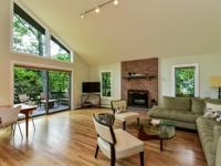 Newly Renovated Cedar-Sided Contemporary With Walk To