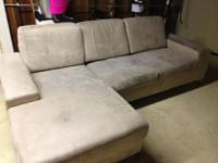 Hi -   I'm selling my tan/beige couch made by