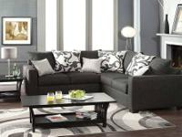 BRAND NEW FROM FURNITURE OF AMERICA. SECTIONAL IS