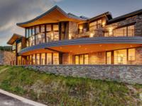 This Michael Upwall designed, Deer Crest home is