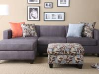 This cute sectional in contemporary Style with accent