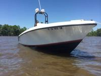 I have a 1997 Contender 23 center console. The boat