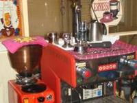 Selling my Conti Bar single group espresso machine.