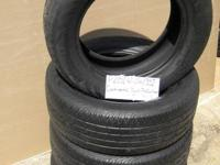 SET OF 4 USED TIRE Continental Contiprocintact 2156016