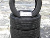 SET OF 4 USED TIRE Continental ContiProcontact 2354517