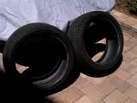 These tires are from the front of a Porsche Carrera 4 i