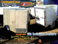 ����      Continental Cargo Enclosed Mini-Trailer