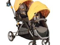 Some tandem strollers are big, bulky and hard to fold,