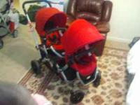 Contours option stroller extremely clean, no rips, no
