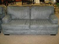 Pre-leased Deep Sea Blue sofa and seat by Comfort