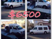 1999 conversion van $6500 or best offer. 172 k milage,