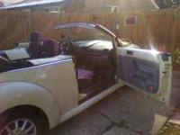We have a 2004 VW Bug Convertable for sale or trade for