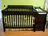 I am selling my 1 year old son's crib and dresser.
