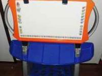 Fisher Price Convertible easel. Dry Erase