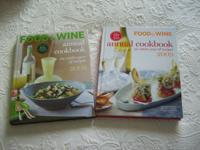 TWO NEW FOOD & WINE ANNUAL COOKBOOKS AN ENTIRE YEAR OF