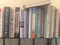 I have a collection of cook books if anyone is