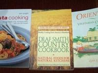 Cook Books - Recipes - All like new, excellent