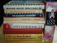 * COOKBOOKS: variety ~ VGC $5 each ~ 9/$30. -