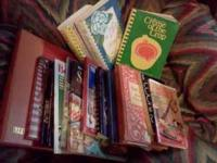 Lots of old cookbooks..asking $30.. Location: amarillo