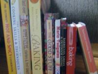 This listing is for 9 cookbooks.  Books include -  $4