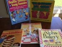 Lot of 5 fun and useful cookbooks, all for only $10