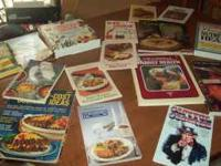 lots of recipe/cookbooks 15.00 takes everything in all