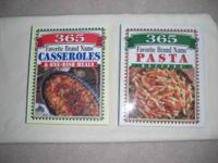 Cookbooks. Contains many colorful photos. Two for $8.00