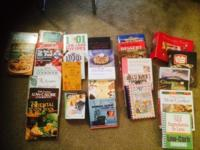 Various cookbooks from.25 to.50 cents or take them all