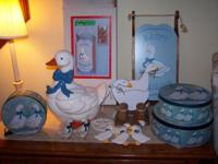Vintage Geese Collection from House of Lloyd, Christmas