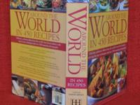 Cooking Book Around the WORLD in 450 Recipes Hardcover