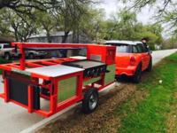 Omg cooking trailer is perfect for camping, fund