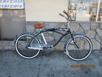 Cool Dark Blue Men's Beach Cruiser Bicycle Size 26