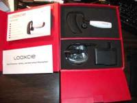 This is a Looxcie LX 1 Wearable video camera. Brand new