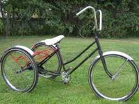 Have a Nice Old Electra Trike with Chrome spoked wheels