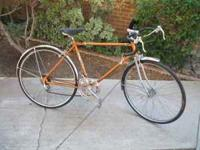 "Vintage 1970 Mens 27"" Columbia Road Bike, new tires &"