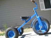 Tough trike, all pneumatic tires, great for out in the