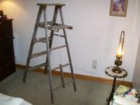 I am selling my very cool old ladder that is very
