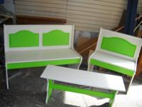 I have a truly nice, solid wood bench set for kids.
