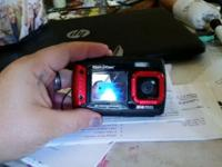 Used once waterproof shockproof can take pictures in an