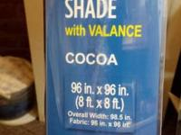 FOR SALE: Coolaroo Exterior UV Shades with Valance