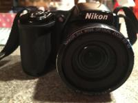 Like new Nikon COOLPIX L830. comes with box, USB cord,