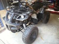 I am selling a practically brand new 2013 Coolster ATV