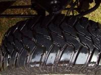 35X12.5R17LT. Tires have 4300 miles on them at this